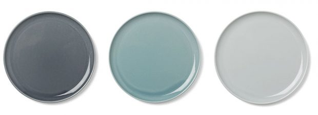 Talíř New Norm Plate, Design Menu, porcelán, průměr 27 cm, 664 Kč, www.designville.cz