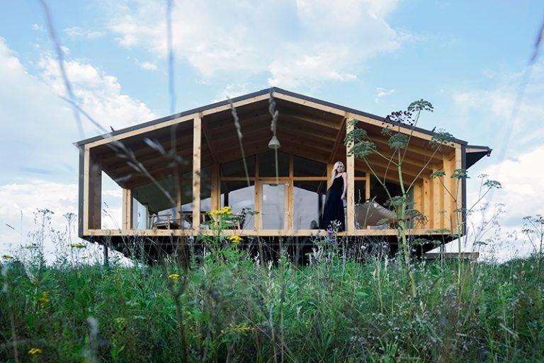 Modulární dům smontovaný za 10 dní!