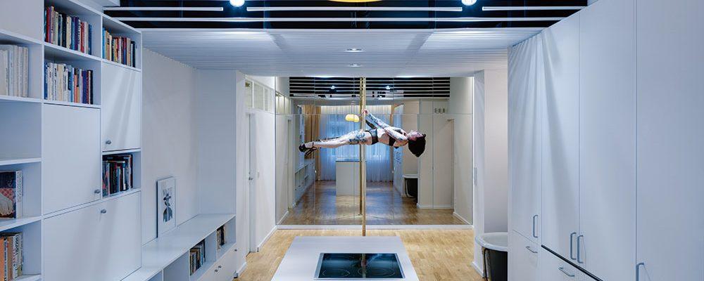 Tančící byt: Malý prostor s velkým potenciálem