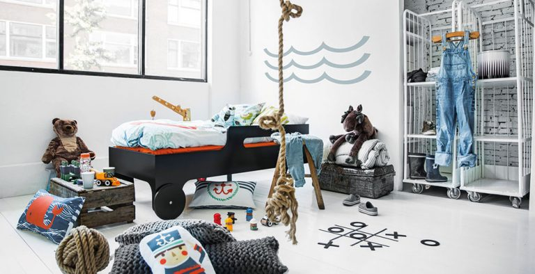 Dětský pokoj pro malé námořníky