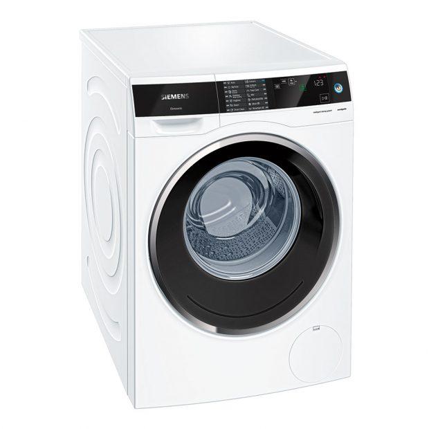 Siemens WM14U640EU, automatická pračka, energetická třída A +++, kapacita bubnu 9 kg, designová řada avantgarde, dotykový displej, inteligentní automatické dávkování, nastavení délky pracího programu, praní při zkráceném čase, přibližná roční spotřeba vody 11 220 l, 42 290 Kč.