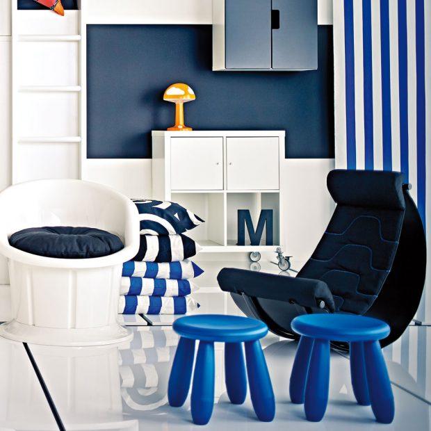 DĚTSKÁ STOLIČKA MAMMUT je dostupná ve více barvách a dětem skvěle poslouží i jako odkládací stolek. Najdete v obchodním domě IKEA.