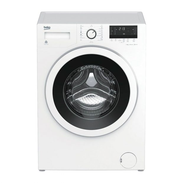 Beko WTV 6632 B0, automatická pračka, energetická třída A+++, úzký rozměr 84 x 60 x 45 cm, kapacita bubnu 6 kg, 15 programů praní, program BabyProtect, program Xpress Super Short pro tkaniny jako spodní prádlo, trička či oblečení na jedno použití, program vlna, k zakoupení v síti Euronics za 7 990 Kč.