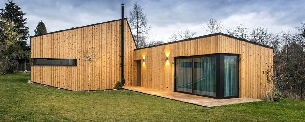 Nízkoenergetická nepodsklepená dřevostavba v Řevnicích