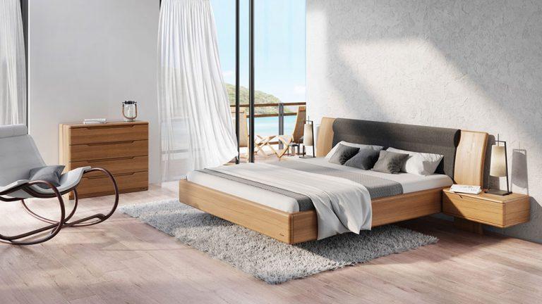 """""""Levitující"""" postel mohou vidět lidé na veletrhu FOR INTERIOR"""