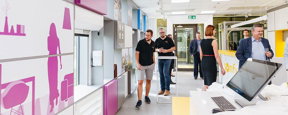 Somfy otevřelo unikátní Experience centrum