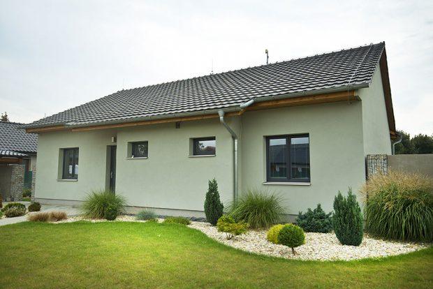 Rodinný dům, severní Morava Zdroj LB CEMIX, s.r.o.