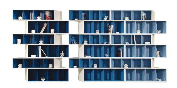 Roche Bobois představuje svou podzimní novinku – knihovnu Trintu, v designu od Fabrice Berrux. Skládá se ze šesti přilehlých modulů, a abyste si mohli četbu vybírat i pozdě večer, k dispozici je také varianta s LED osvětlením. FOTO ROCHE BOBOIS