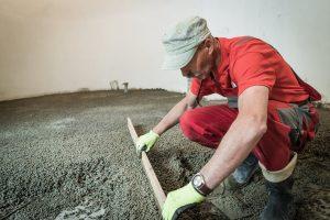 Výhody lehkého betonu při rekonstrukci podlah