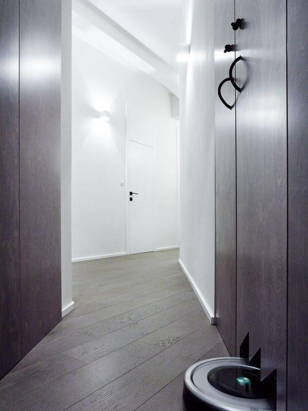 Jedním z úkolů architektů bylo vyřešení úložných prostor, které byly ve stávající dispozici nedostatečné.FOTO BOYSPLAYNICE