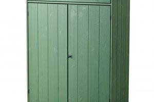 Klasická, nadčasová skříňka HURDAL v zeleném provedení, se hodí všude. Jak do moderního bytu, tak na starou chalupu. FOTO IKEA