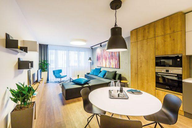 Dvoupokojový a třípokojový byt v městském a staromládeneckém stylu