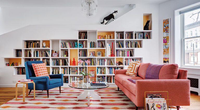 Dům pro milovníky knížek a koček