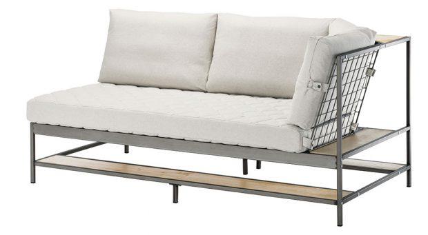 Trojpohovka Ekebol, súložnou policí, šířka 180 cm, výška 88 cm, hloubka 92 cm, 10990 Kč, IKEA
