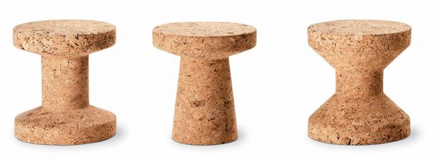 Vitra stoličky Cork Family, design Jasper Morrison, korek, 31 x 33 cm, 11144 Kč, www.designpropaganda.cz