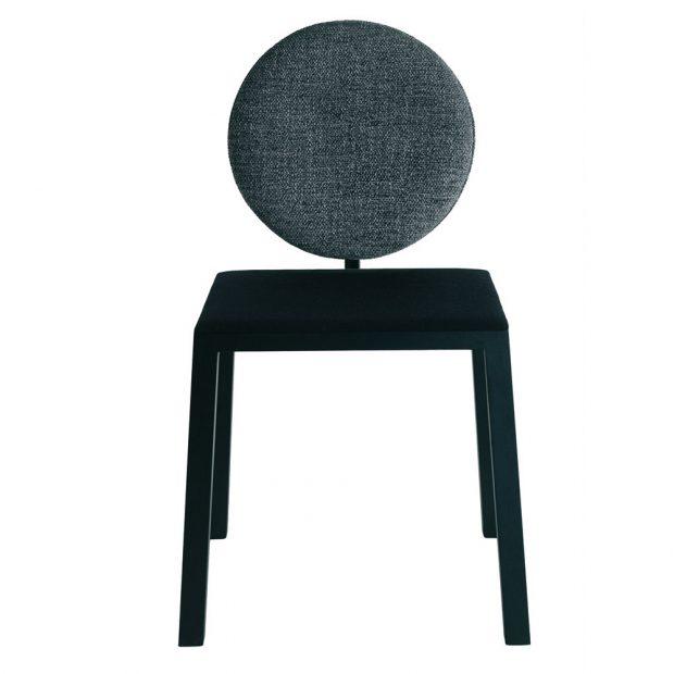 Lift Chair, od Lago, nastavitelná výška opěradla o 10,5 cm, čalouněný sedák, dřevo, info o ceně na www.lago.it