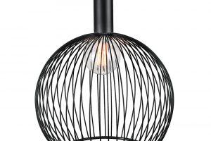 Svítidlo Aver 50, design Carlo Volf, kov, výška 54,5 cm, průměr stínu 50 cm, délka kabelu 300 cm, info o ceně na www.nordlux.com