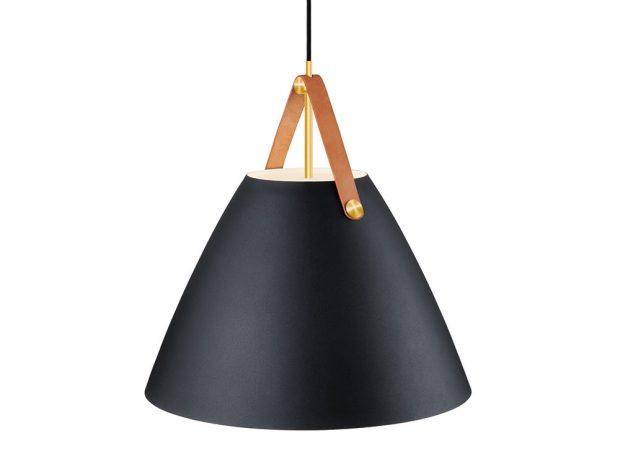 Lampa Strap 48, kov, výška 48 cm, průměr stínu 48 cm, délka kabelu 300 cm, www.nordlux.com