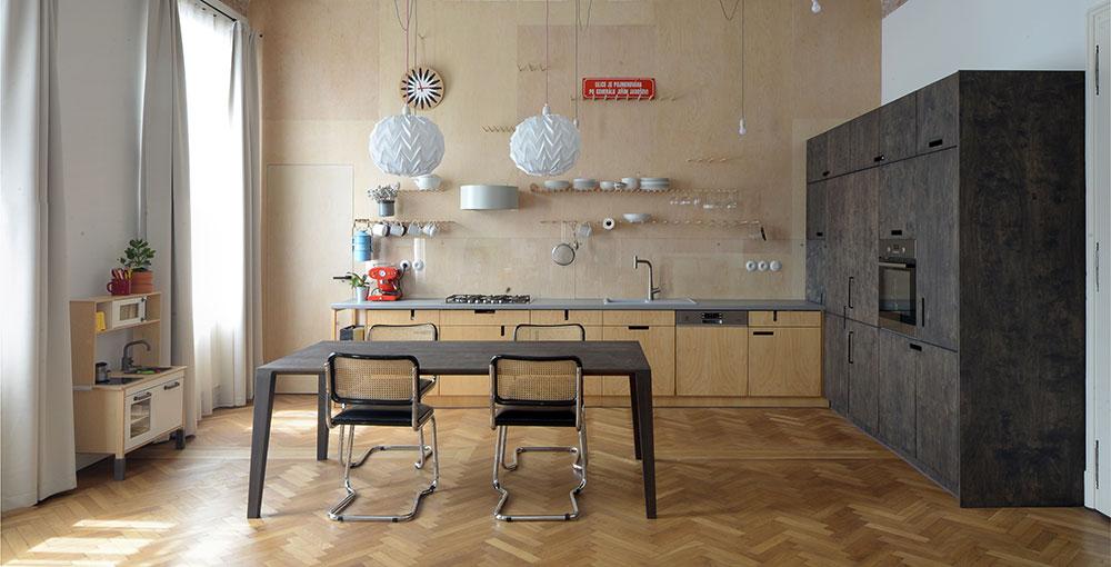 Rekonstrukce měšťanského bytu s patinou historie