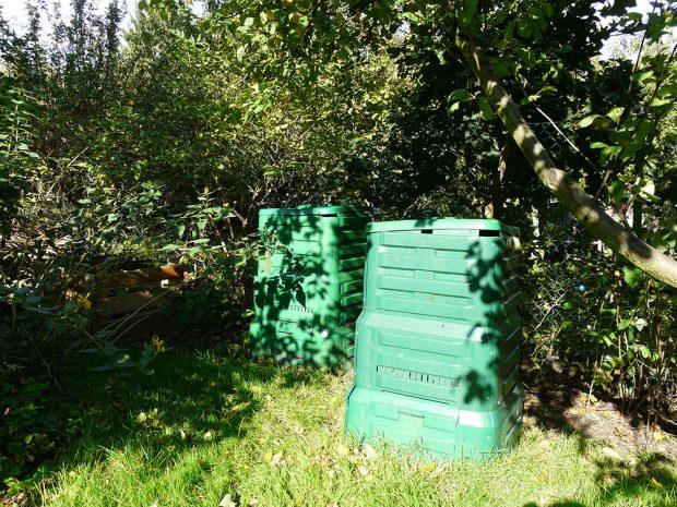 Kompostér se vejde i na malou zaradu. foto: Lucie Peukertová