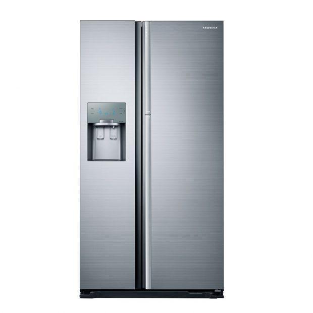 Chladnička Food Showcase, model RH56J69187F, kov, výška 179 cm, objem 376 l, energetická třída A++, 54990 Kč www.samsung.com/cz