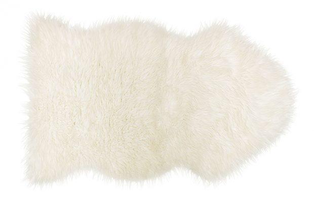 Ovčí kůže Ludde, bílá, 80 x 45 cm, 899 Kč, IKEA