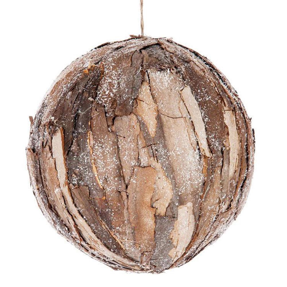 Vánoční ozdoba Bark zpřírodní kůry navodí příjemnou lesní atmosféru. Průměr koule je 15 cm. Pořídíte na www.westing.cz