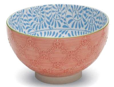 Miska Tue od značky Zafferano voranžové barvě, porcelán, průměr 11,5 cm; 15,2 cm, od 4,20 €, www.bellatavola.sk