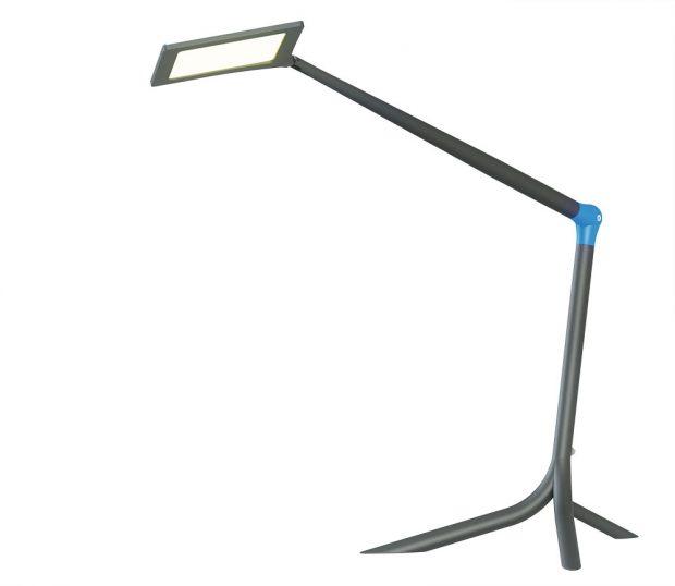 Stolní lampa FLOU od společnosti HALLA, navržená designérkou Martinou Doležalovou, byla speciálně navržena pro rovnoměrné osvětlení pracovního prostoru, kčemuž využívá technologii světelného zdroje OLED. Lampu je možné volně postavit na stůl, nebo připevnit kpracovní ploše. Světelný panel icelé svítidlo jsou otočné vkloubu, můžete je tedy dle potřeby otáčet. Kdostání je vněkolika barevných variantách.