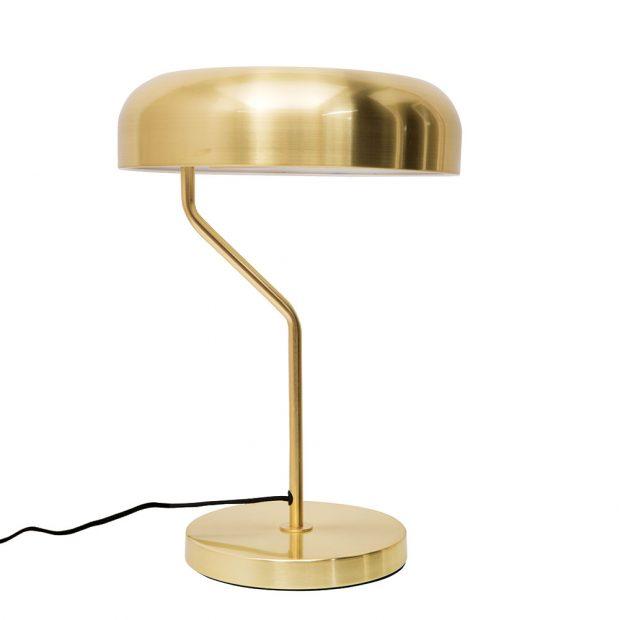 Kovová ikonická stolní lampička Eclipse (30 x 42 cm) od Dutchbone rozzáří každý pracovní ičtecí koutek. Doplňte ji světelným zdrojem E27 smax. 75wattovou žárovkou, nebo 11wattovou úspornou LED žárovkou.