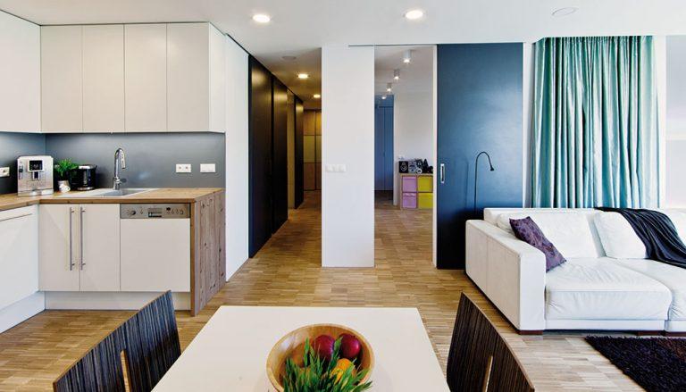 Rekonstrukce bytu pro mladou rodinu bez nutnosti větší investice