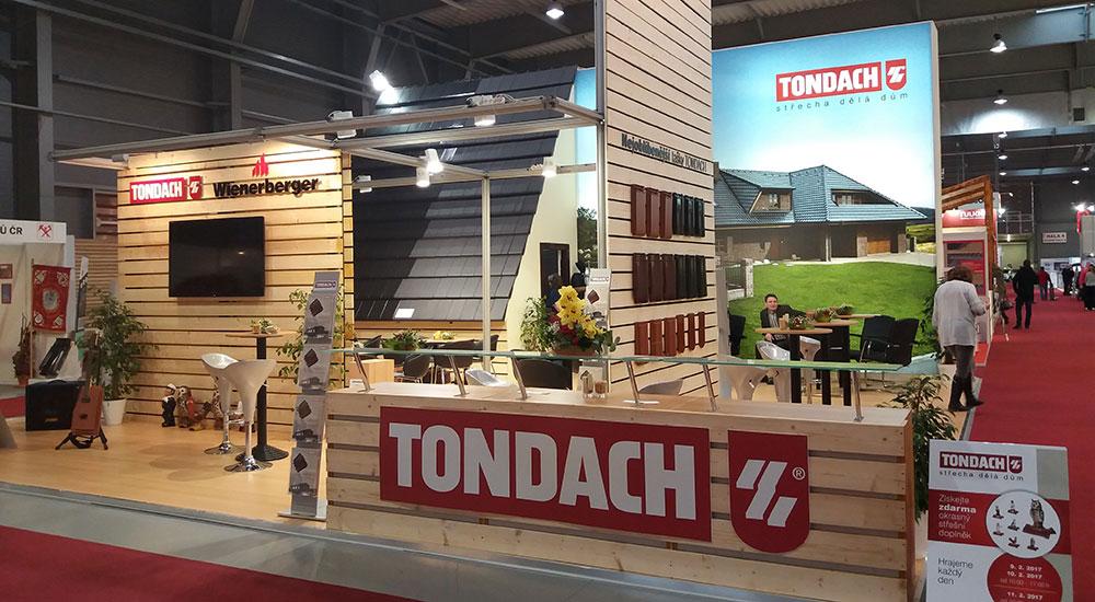 Pozvánka na návštevu expozice společnosti TONDACH