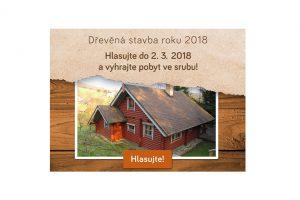 Hlasujte pro nejlepší dřevěné stavby a vyhrajte pobyt ve srubu!
