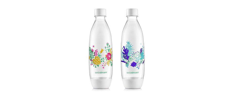 Nové sady lahví SodaStream oživují rostlinné motivy