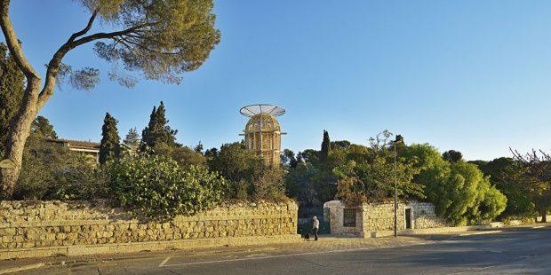 Věž Ester v Jeruzalémě, soutěžící Huť architektury Martin Rajniš s.r.o.; Vítěz odborné poroty v kategorii Dřevěné konstrukce – realizace