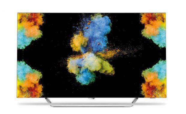 Atraktivní tenký design OLED televizoru Philips řady 9002 si letos vysloužil prestižní cenu za design Red Dot Product Awards vkategorii Spotřební elektronika. Televizor nabízí obraz vohromujícím rozlišení 4K Ultra HD, což představuje čtyřikrát vyšší rozlišení než běžný televizor Full HD. Autentickou reprodukci barev zajišťuje procesor P5 Engine, technologie OLED zase poskytuje skvělý barevný kontrast aextra syté podání černé. FOTO PHILIPS