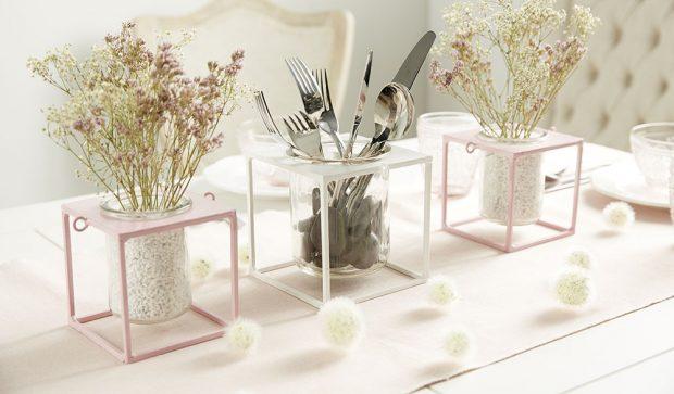 Vázy a svícny za pár korun!