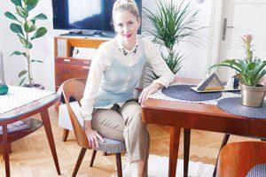 Miriama Schniererová před třemi lety skončila malbu na VŠVU adosud se jí věnuje, svou budoucnost však spojuje isinteriérovým designem. www.mirindish.com