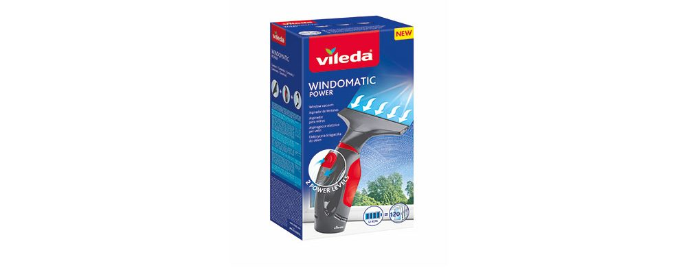 Extra výkon pro snazší mytí oken