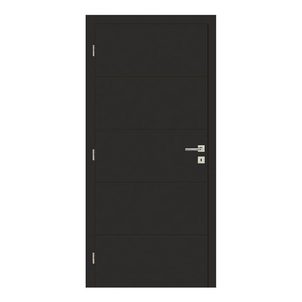 Dveře Vertigo 26 (Solodoor), široké spektrum povrchových úprav a barev, povrch CPL 0,26 mm, cena vprovedení ořech od 5796 Kč, www.solodoor.cz