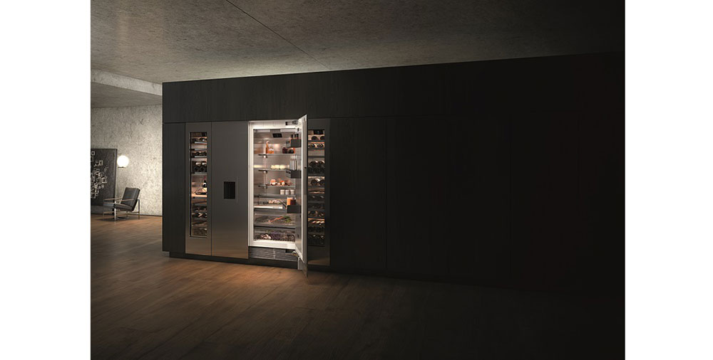 gaggenau p edstavuje novou adu exkluzivn ch chladic ch spot ebi vario 400 home. Black Bedroom Furniture Sets. Home Design Ideas