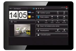 Další možnost ovládání inteligentní domácnosti – vizualizační panel KNX Domovea zdroj Hager