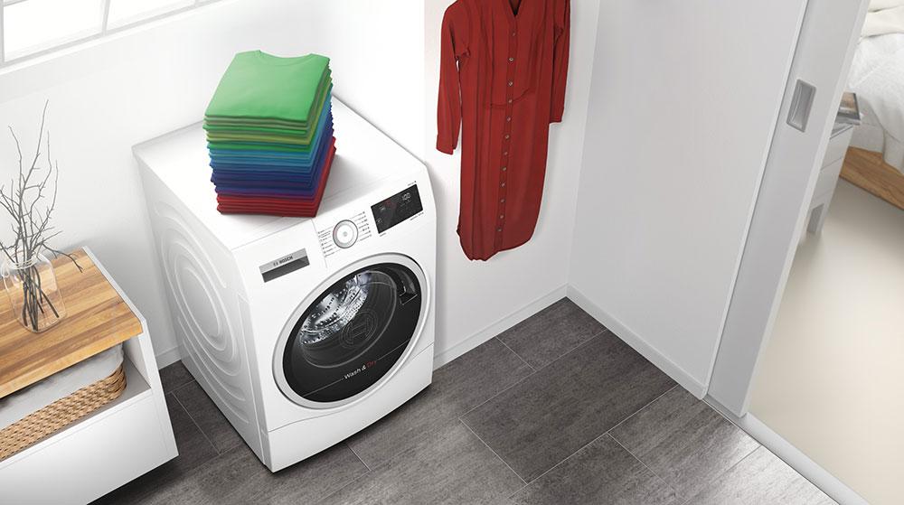 Bosch představuje nové kombinované pračky se sušičkou s technologií AutoDry