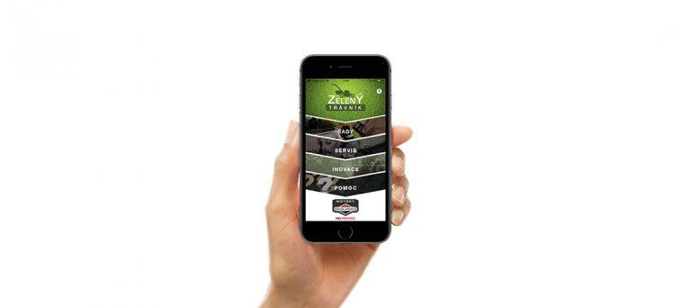 Mobilní aplikace ZELENÝ TRÁVNÍK – zdroj praktických informací ve Vašem mobilu