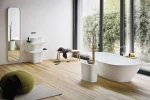 Vana Fonte od Rexa, design Monica Graffeo, zpatentovaného materiálu Kakakril, 175 x 56 x 85 cm, cena na dotaz, www.styleit2.cz