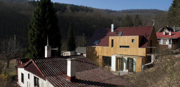 Rodinná dřevostavba, která se přizpůsobí potřebám majitelů
