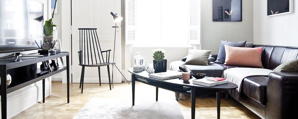 Krásný byt s vysokými stropy a parketovou podlahou