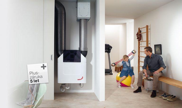 Proč si vybrat komfortní větrání s rekuperací? Švýcarský výrobce poskytuje prodlouženou 5-letou záruku