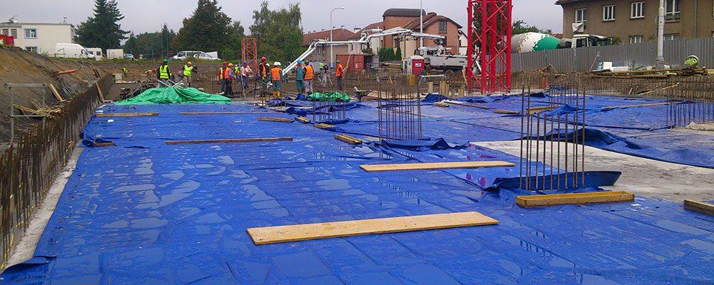 Ošetřování betonu