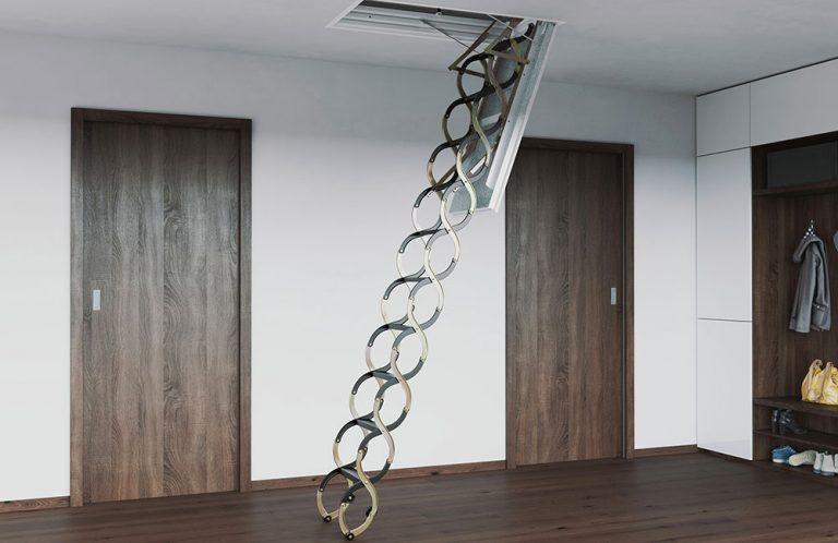 Půdní schody vybírejte s rozvahou